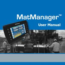 MatManager™ User Manual FW 2.0.0