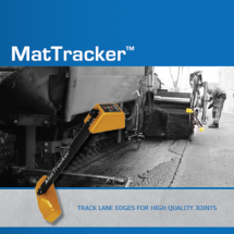 MatTracker™ is easy to operate and improves the quality of your joints