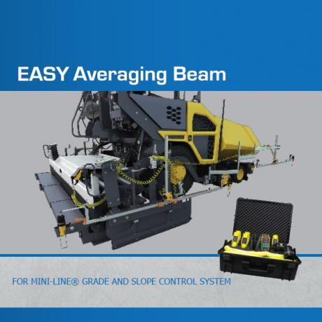 EASY Averaging Beam - Grade & Slope Control