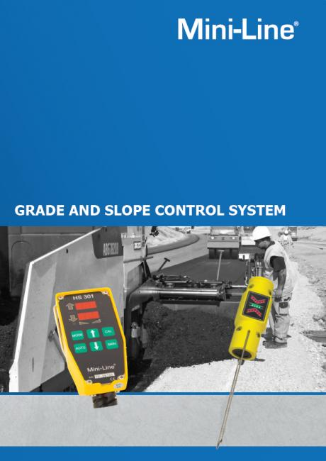 Mini-Line® Grade & Slope Control System G221