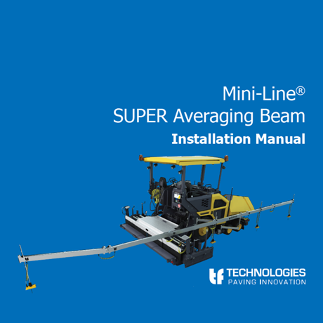 SUPER Averaging Beam Installation Manual