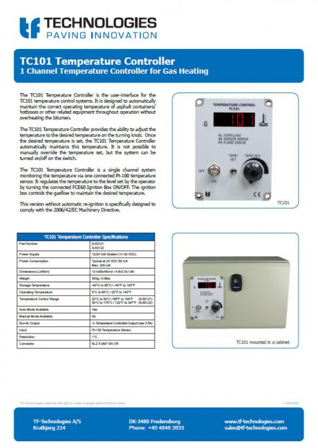 TC101 Temperature Controller