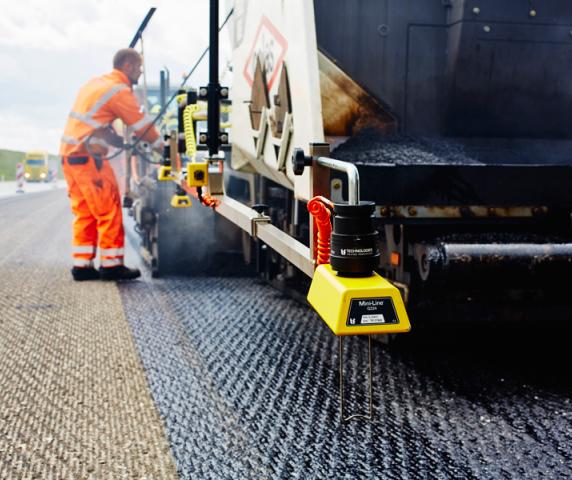 Averaging beam for easy paving - TF-Technologies